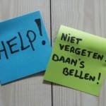 Hulp nodig - Bel Daan